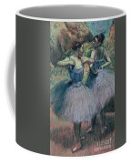 Dancers In Violet  Coffee Mug