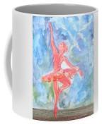 Dancing Ballerina Coffee Mug