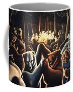 Dancing Bears Painting Coffee Mug