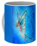 Dancing Fairy In Blue Sky Coffee Mug