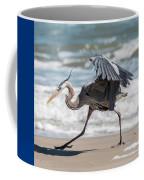 Dancing Heron #1/3 Coffee Mug