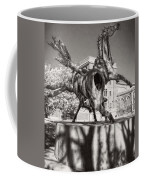 Dancing Horses Noir Coffee Mug