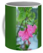 Dancing Lady Pink Hibiscus Coffee Mug