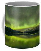 Dancing Northern Lights Coffee Mug