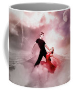 A Passionate Pair Dance In The Middle Of Nowhere, Who Embody The Strength And Subtlety Coffee Mug