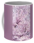 Dancing Sakura Haiku Coffee Mug