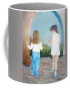 Dancing Sisters Coffee Mug