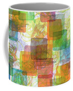 Dancing Squares Coffee Mug