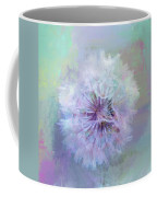 Dandelion In Pastel Coffee Mug