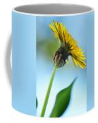 Dandelion Reaching High Coffee Mug