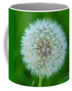 Dandelion Seed Head Expressionist Effect Coffee Mug