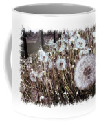 Dandelion Wishes Coffee Mug by Myrna Migala