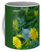 Dandelions, Young And Old Coffee Mug