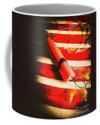 Danger Bomb Background Coffee Mug