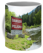 Danger Peligro Coffee Mug