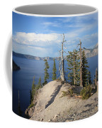 Dangerous Slope At Crater Lake Coffee Mug