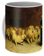 Daniel In The Lions Den Coffee Mug