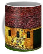Danish Barn Watercolor Version Coffee Mug