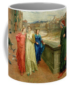 Dante And Beatrice Coffee Mug by Henry Holiday