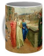 Dante And Beatrice Coffee Mug