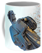 Dante In Meridian Hill Park Coffee Mug