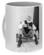 Dapper Man With Toothbrush Coffee Mug