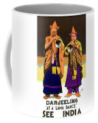 Darjeeling, Lama Dance Musicians, India Coffee Mug