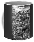 Darjeeling Monochrome Coffee Mug