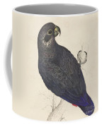 Dark Blue Parrot Coffee Mug