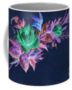 Dark Bouquet Coffee Mug by Writermore Arts
