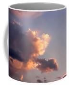 Dark Clouds Fringed With Light Coffee Mug