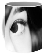 Dark Eyed Angel Coffee Mug