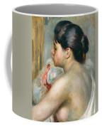 Dark-haired Woman Coffee Mug