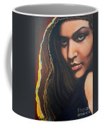 Dark Soulful Latin Eyes          From The Attitude Girls Coffee Mug