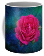Dark Pink Rose Coffee Mug