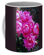 Dark Pink Roses Coffee Mug
