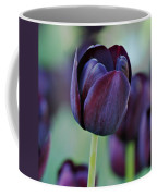 Dark Purple Tulip Coffee Mug