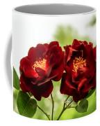 Dark Red Roses Coffee Mug