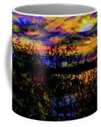 Dark Shadowy Sunset Coffee Mug