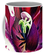 Dark Tulip Macro Coffee Mug