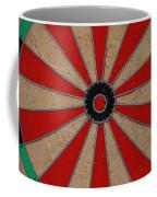 Dart Board Coffee Mug