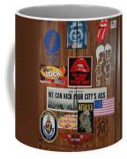 Dartboard Box Coffee Mug