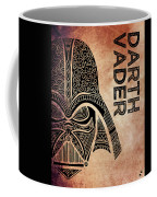 Darth Vader - Star Wars Art - Brown Coffee Mug
