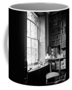 Darwins Study And Microscope, Down House Coffee Mug