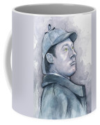 Data As Sherlock Holmes Coffee Mug