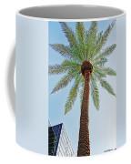 Date Palm In The City Coffee Mug