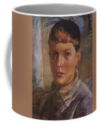 Daughter Of The Artist 1933 Kuzma Sergeevich Petrov-vodkin Coffee Mug