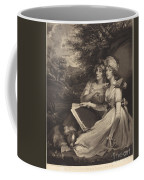 Daughters Of Sir Thomas Frankland Bart (the Sisters) Coffee Mug