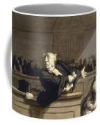 Daumier: Advocate, 1860 Coffee Mug