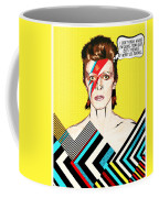 David Bowie Pop Art Coffee Mug